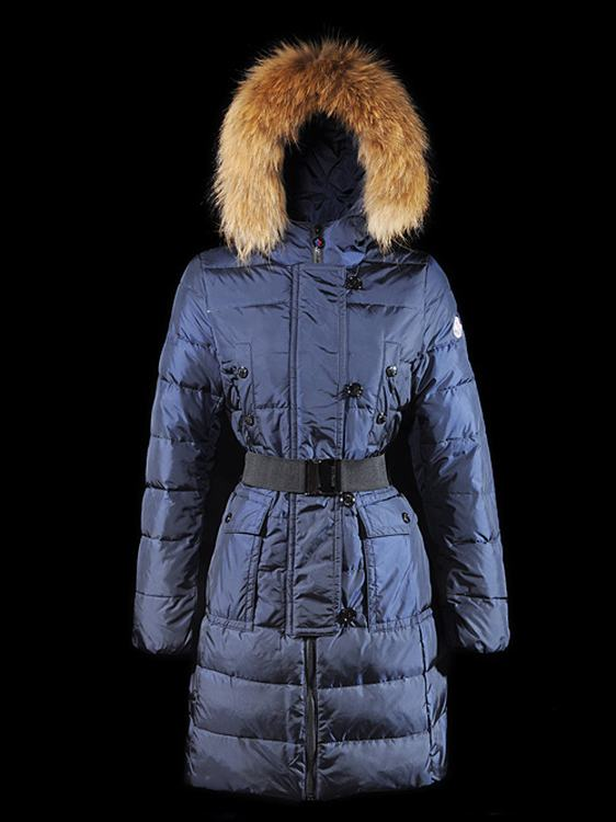 Moncler Genevrier 01 Women Jacket Royal Blue