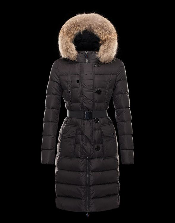 Moncler Genevrier Women Jacket Black
