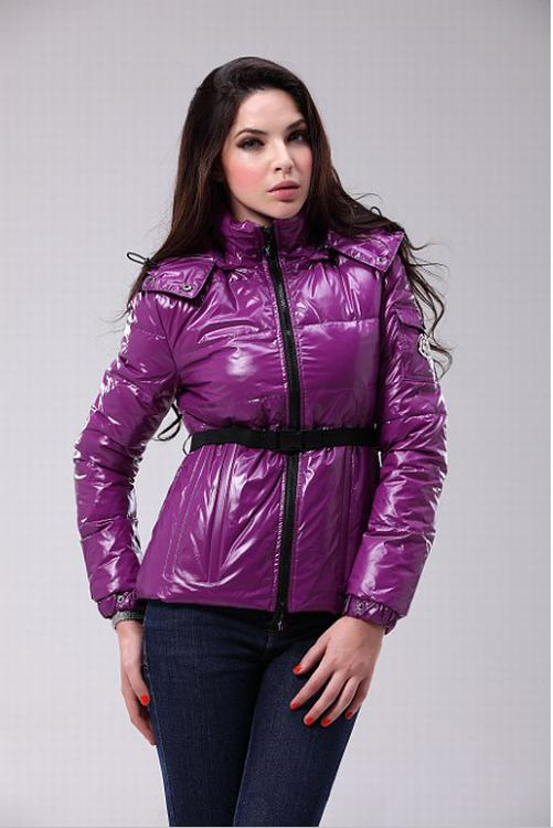 Moncler Grenadille Women Jacket Purple Red