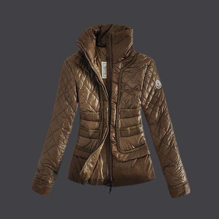 Moncler Grenoble 04 Women Jacket Brown