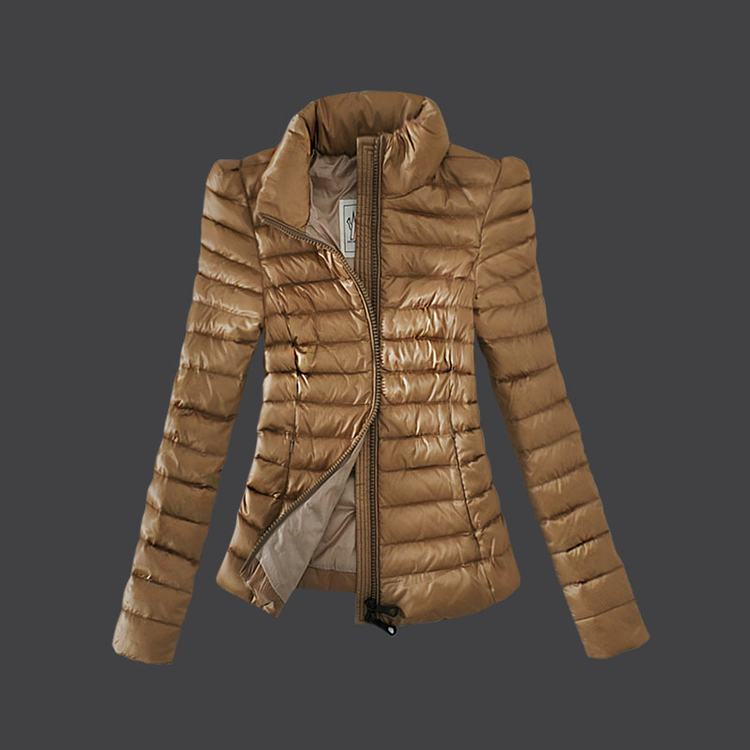 Moncler Grenoble 06 Women Jacket Light Brown