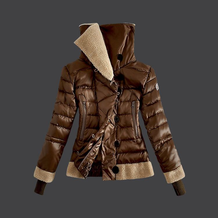 Moncler Grenoble 07 Women Jacket Brown