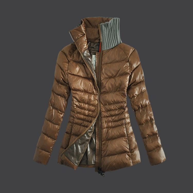 Moncler Grenoble 08 Women Jacket Light Brown