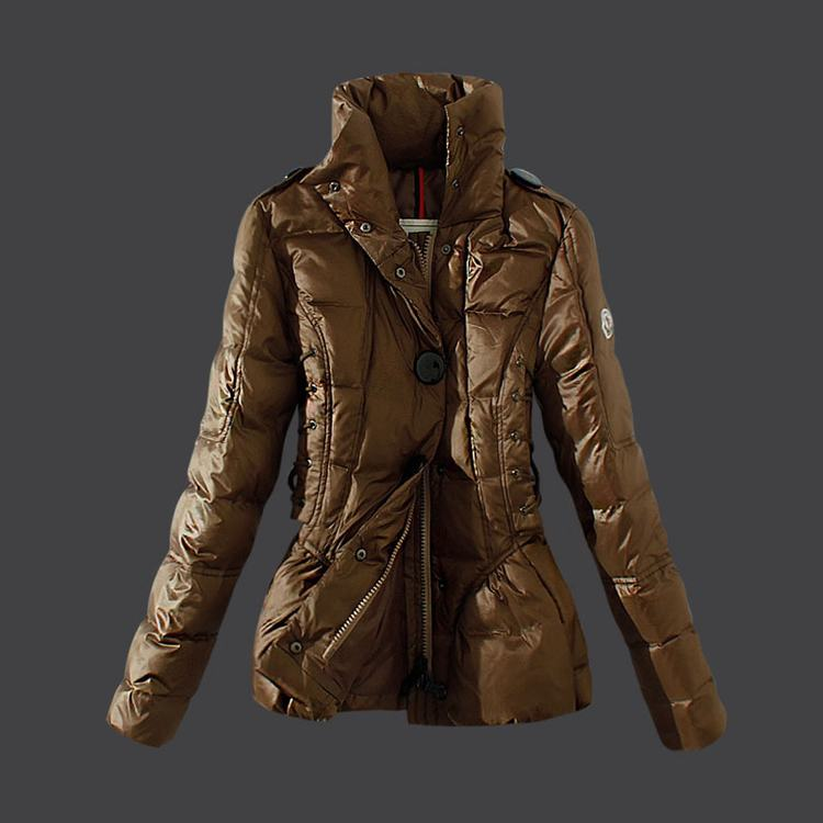 Moncler Grenoble 11 Women Jacket Brown
