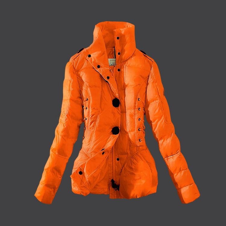 Moncler Grenoble 11 Women Jacket Orange