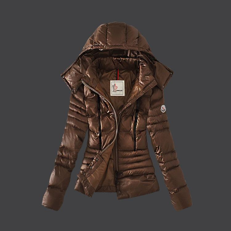 Moncler Grenoble 14 Women Jacket Brown