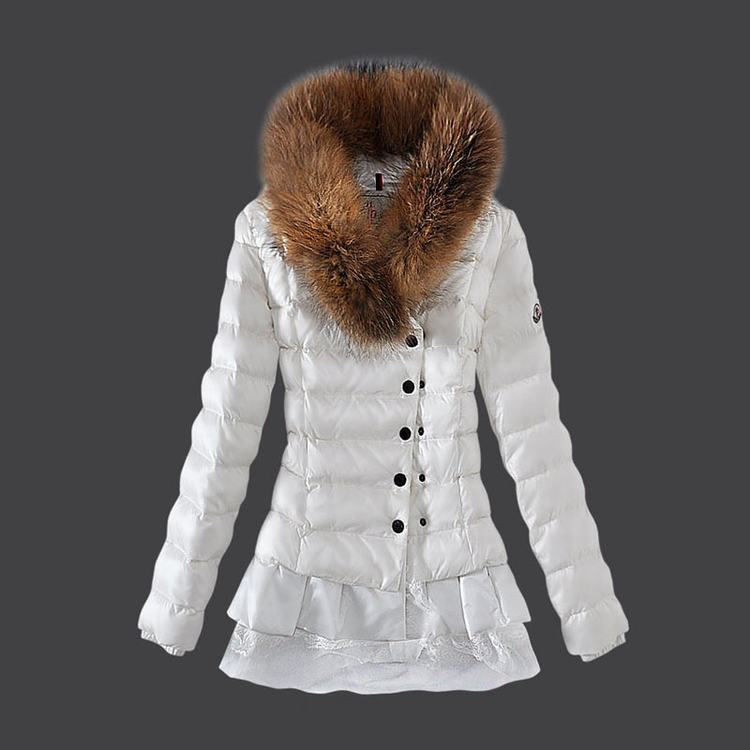 Moncler Grenoble 17 Women Jacket White