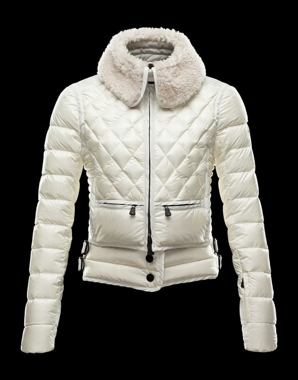 Moncler Grenoble Alsace Women Jacket White