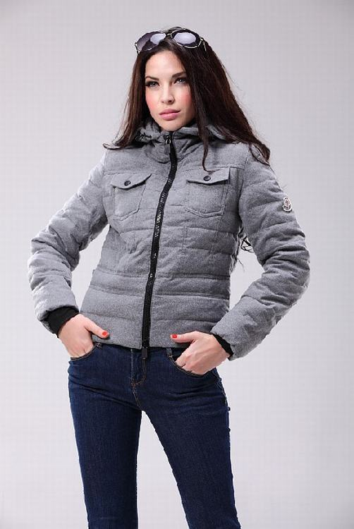 Moncler Grenoble Aul Women Jacket Grey