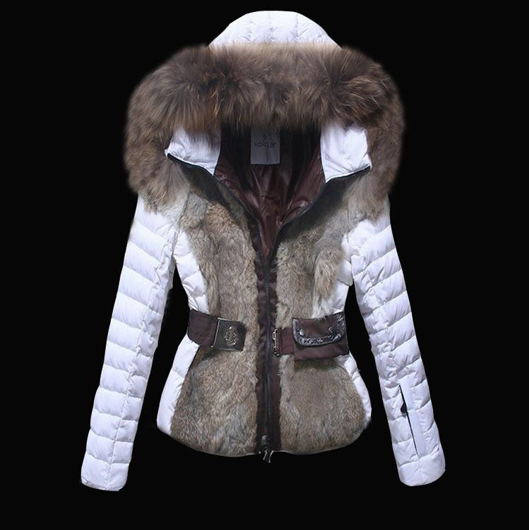 Moncler Grenoble Jager Women Jacket White