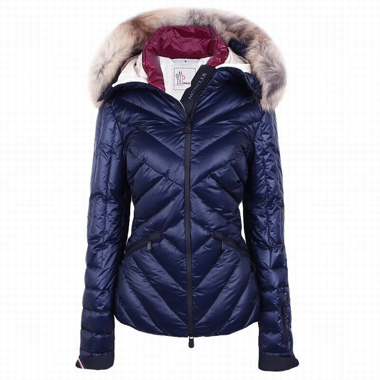 Moncler Grenoble Makalu Women Jacket Blue