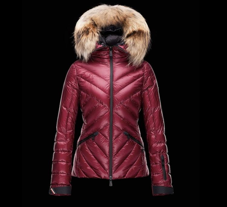 Moncler Grenoble Makalu Women Jacket Red