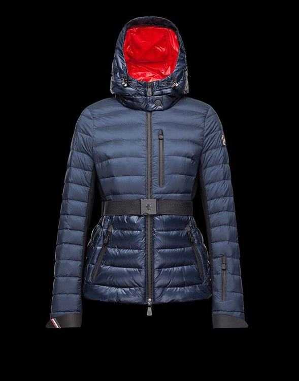 Moncler Grenoble Women Jacket Blue