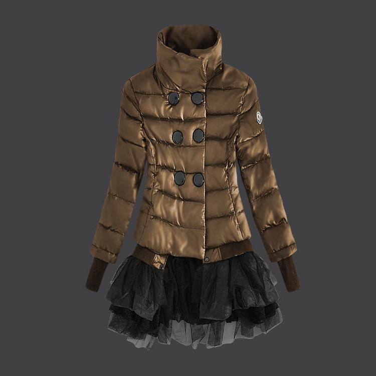 Moncler Grenoble Women Jacket Brown