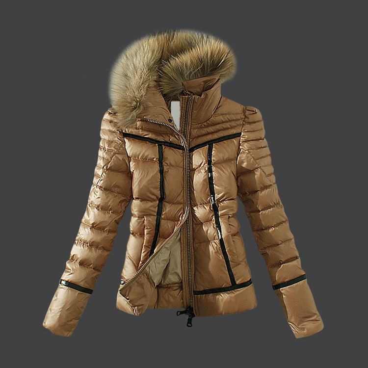 Moncler Haevy Women Jacket Brown