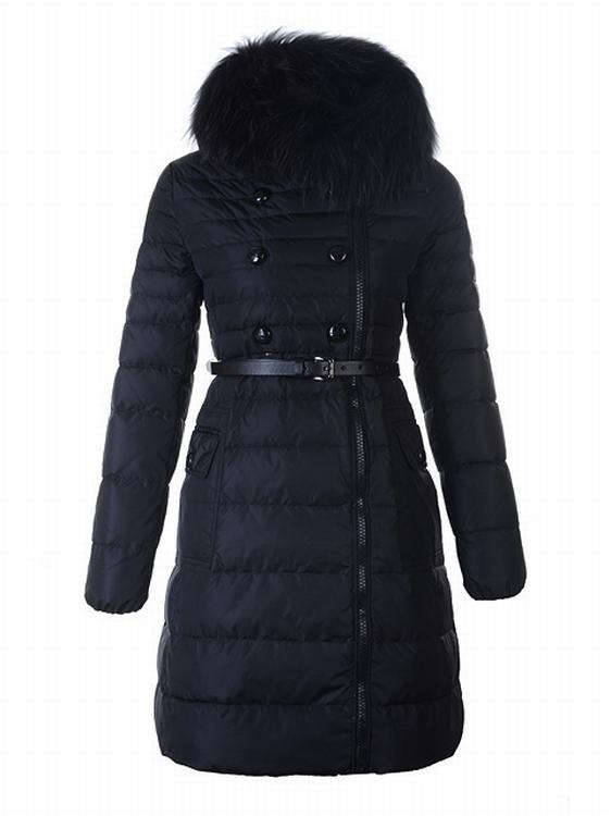 Moncler Herisson Women Jacket Dark Blue