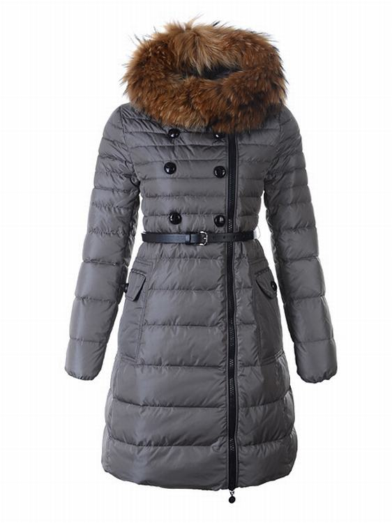Moncler Herisson Women Jacket Grey