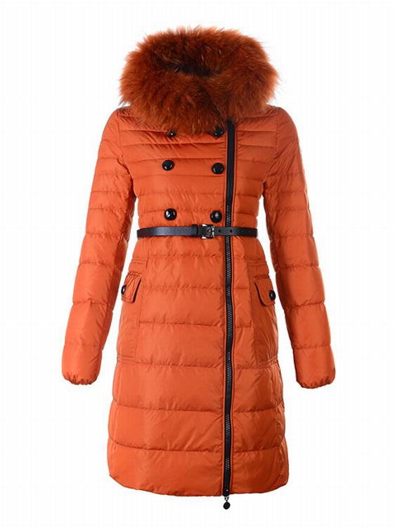 Moncler Herisson Women Jacket Orange