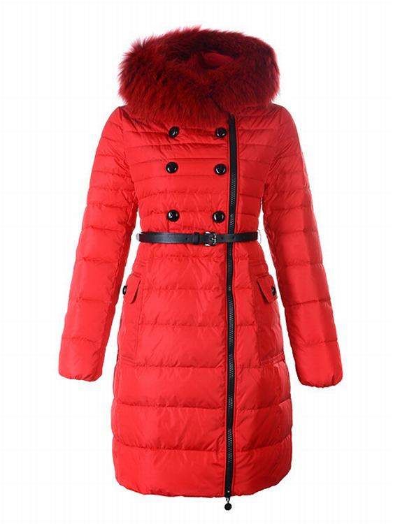 Moncler Herisson Women Jacket Red