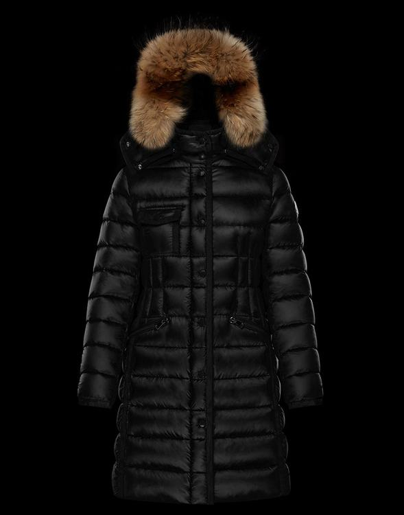 Moncler Hermifur Women Jacket Black