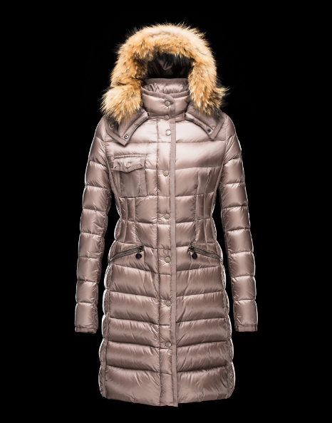 Moncler Hermifur Women Jacket Bright Pink