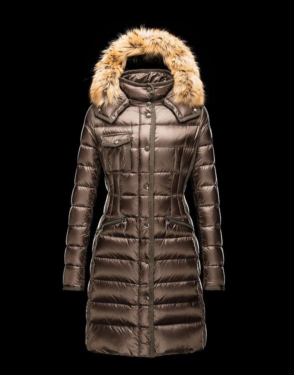 Moncler Hermifur Women Jacket Gold