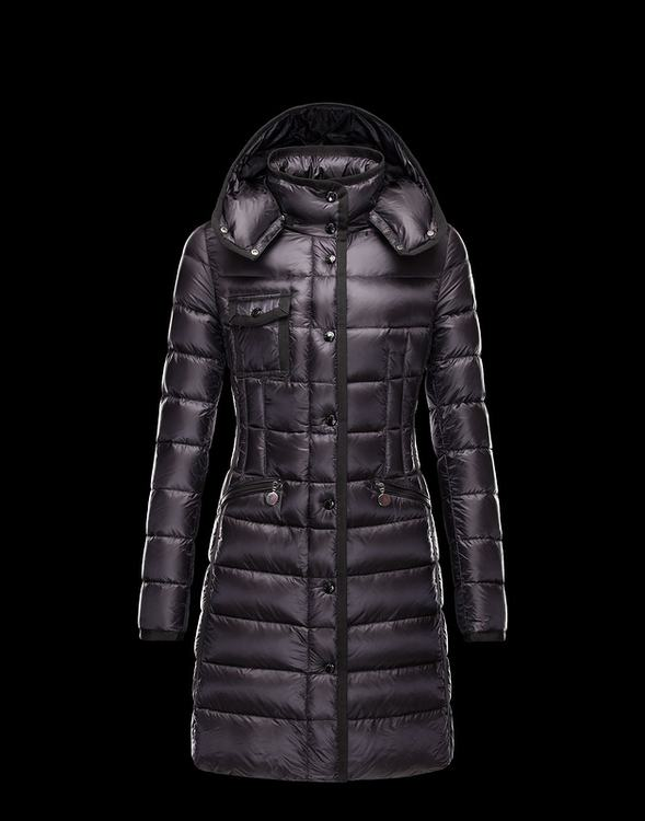 Moncler Hermine Women Jacket Dark Red