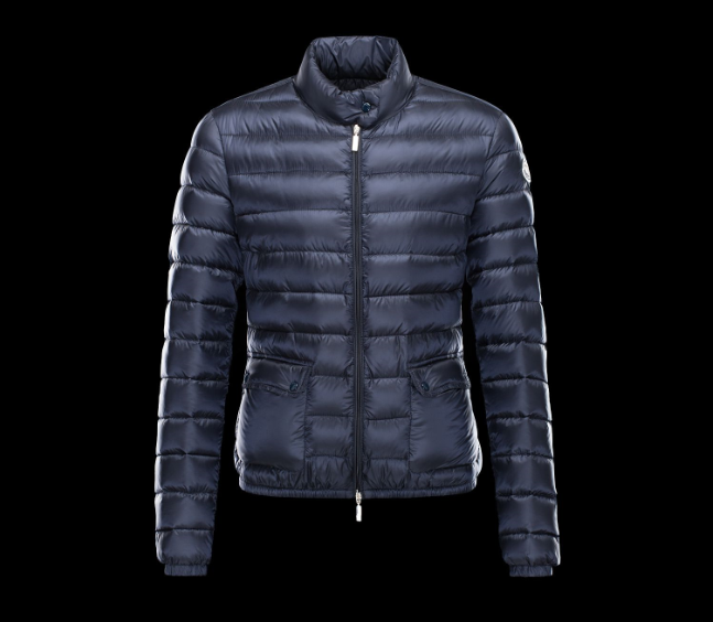 Moncler Lans Women Jacket Blue