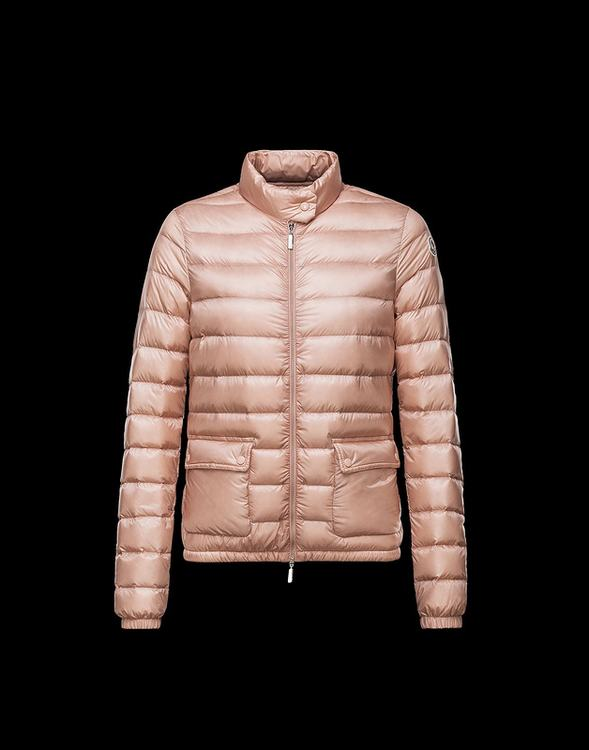 Moncler Lans Women Jacket Cherry