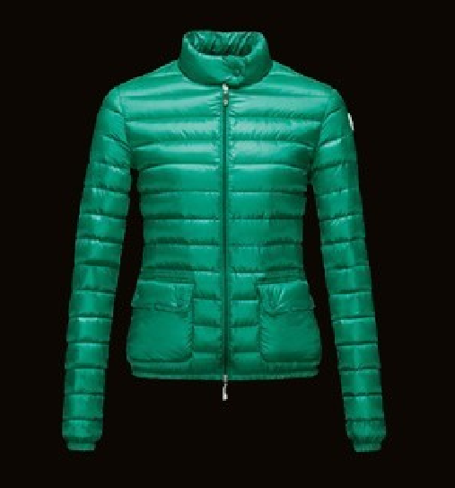 Moncler Lans Women Jacket Green