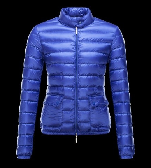 Moncler Lans Women Jacket Purple Blue