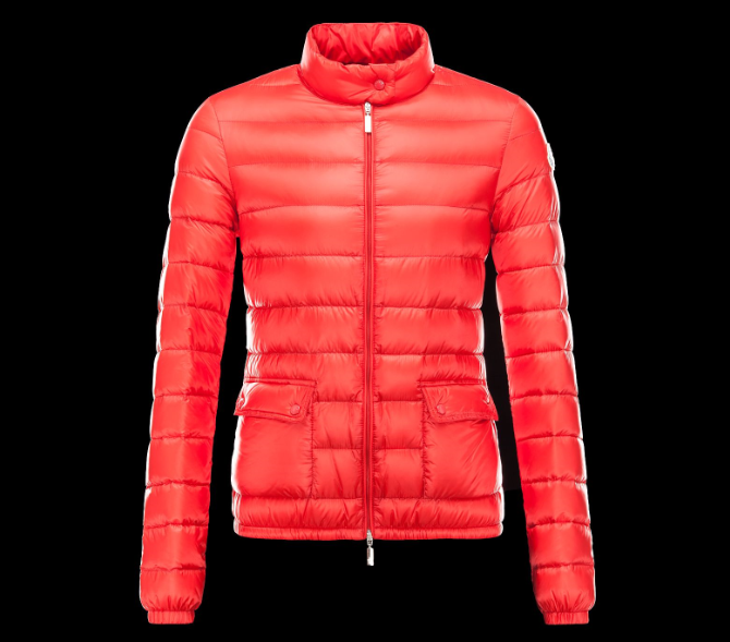Moncler Lans Women Jacket Red
