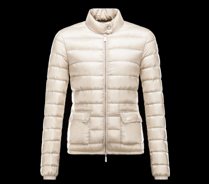 Moncler Lans Women Jacket White