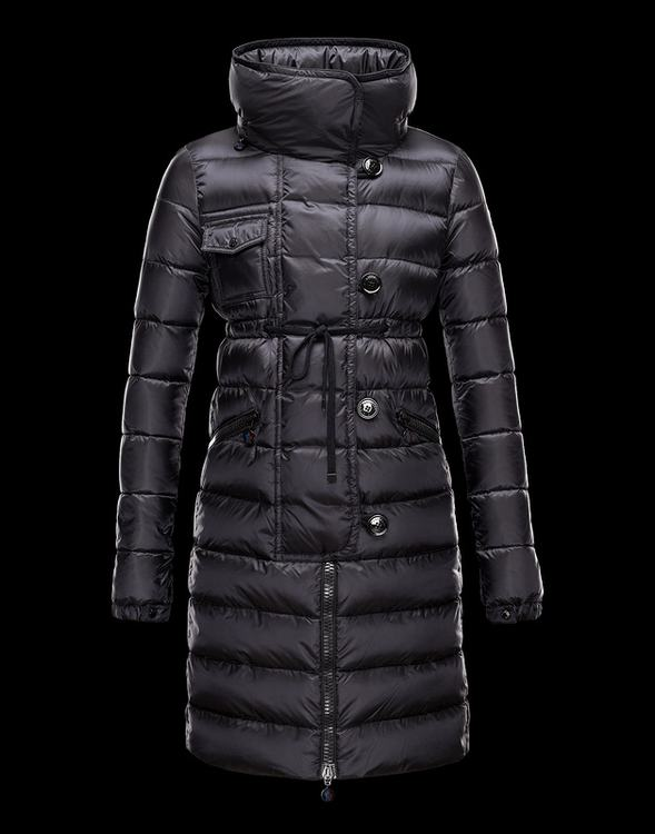 Moncler Libellule Women Jacket Dark Blue