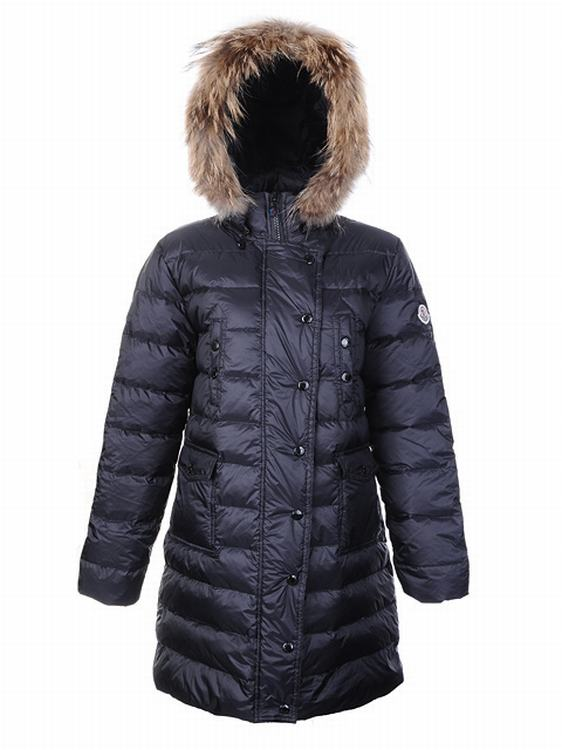 Moncler Lontre Women Jacket Blue