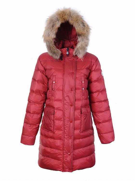 Moncler Lontre Women Jacket Red