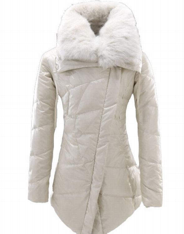 Moncler Lontre Women Jacket White