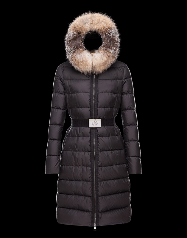 Moncler Mantel Women Jacket Black