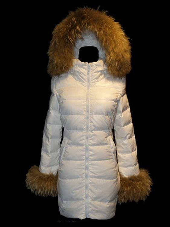Moncler Mari Women Jacket White
