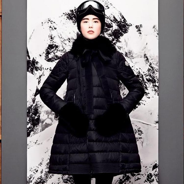 Moncler Mayuko Women Jacket Dark Blue