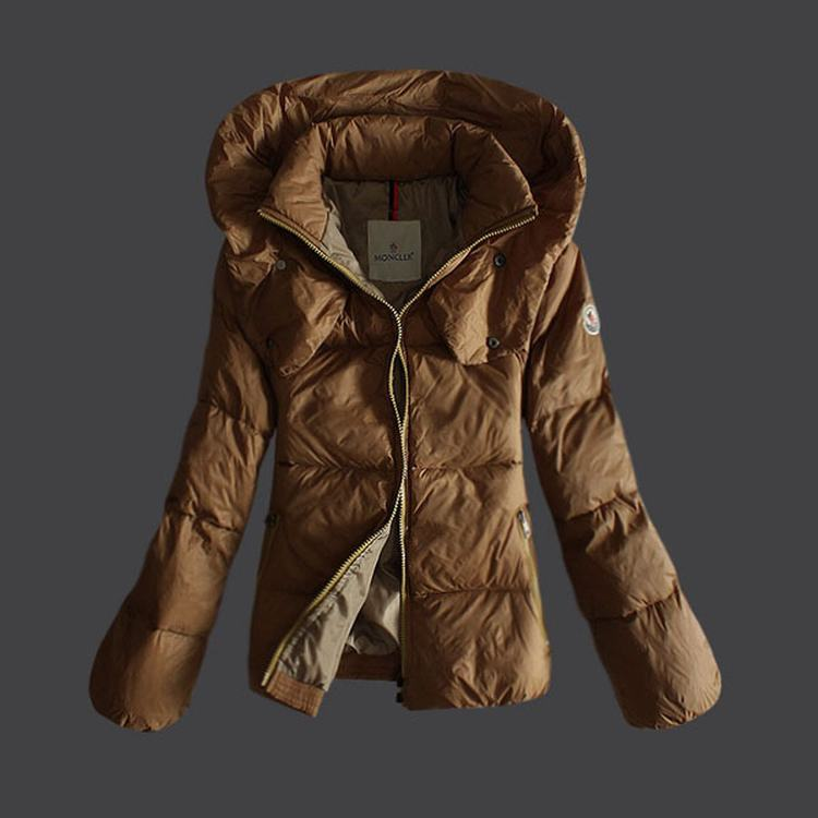 Moncler Mengs Women Jacket Brown