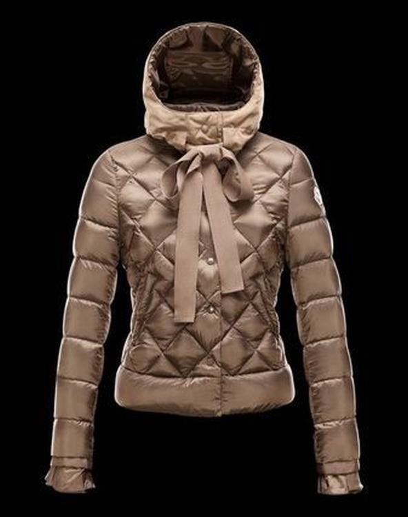 Moncler Misa Women Jacket Brown