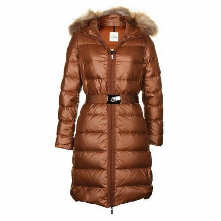 Moncler Nantesfur 01 Women Jacket Orange