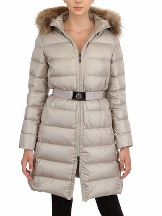 Moncler Nantesfur 01 Women Jacket White