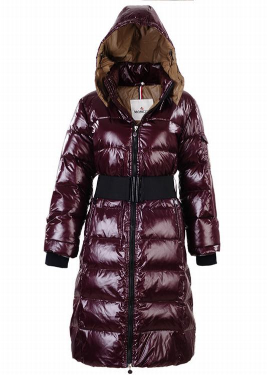 Moncler Nantesfur 02 Long Women Jacket Kermesinus