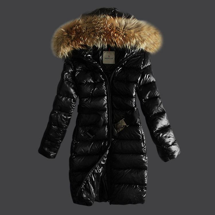 Moncler Natesfur Women Jacket Black