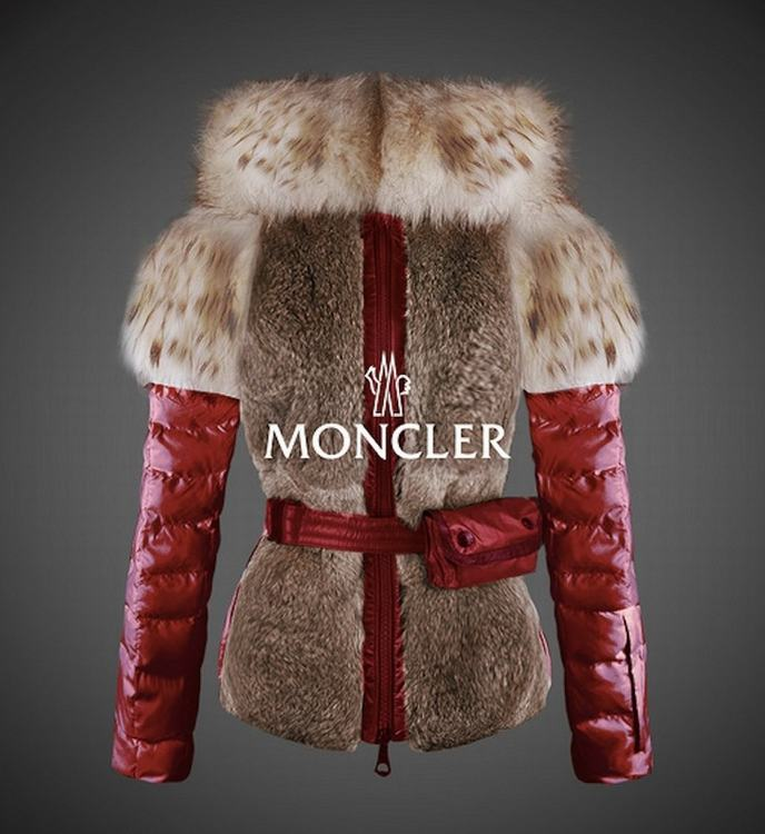 Moncler New One Women Jacket Red