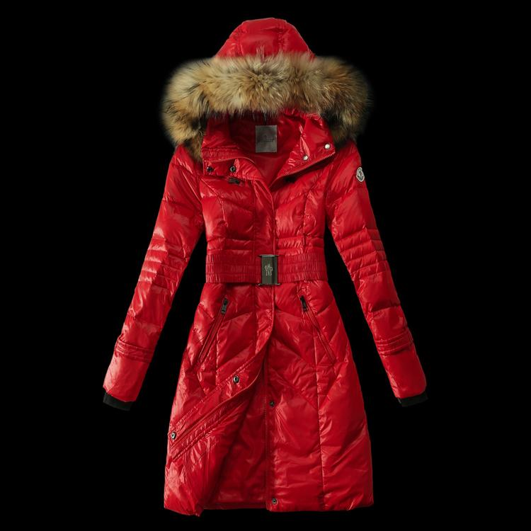 Moncler New Two Women Jacket Red