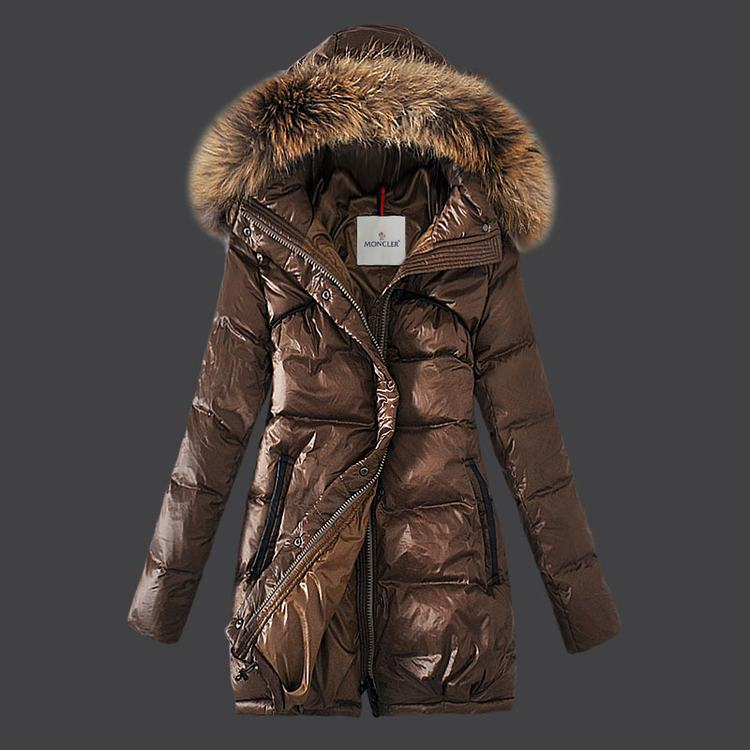 Moncler Parnassie Women Jacket Brown