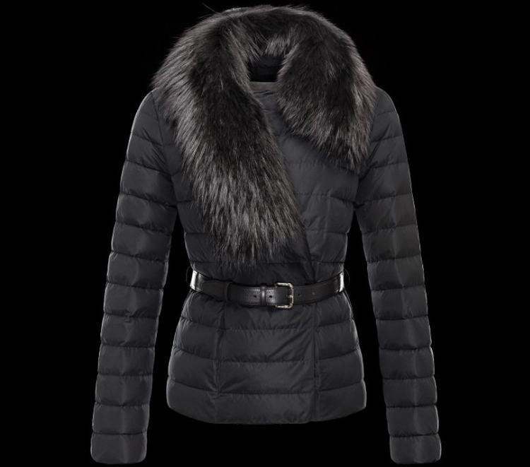 Moncler Polygale Women Jacket Black